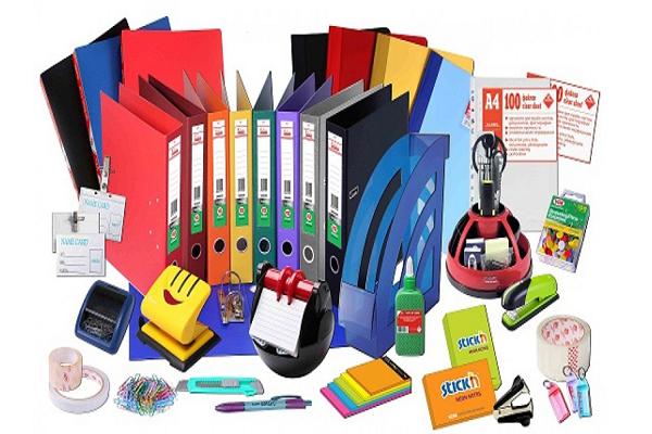 Sản phẩm văn phòng phẩm cung cấp cho khách hàng sử dụng